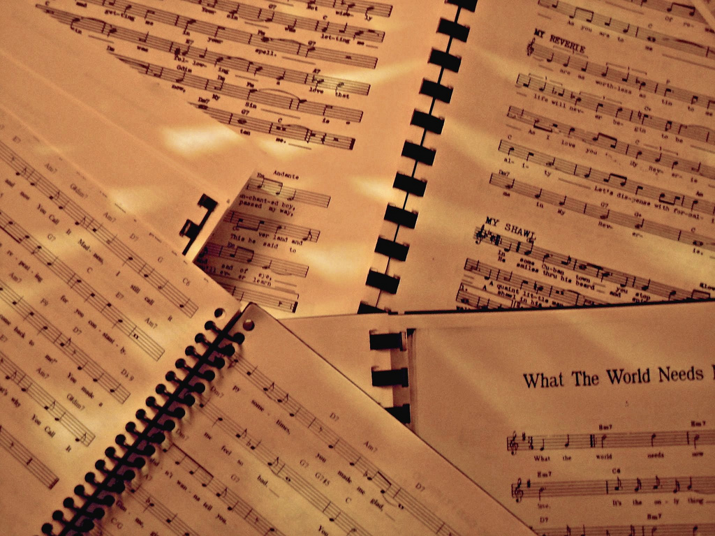 Sheet Music By AKZOphoto